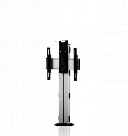 1 Display 1×1, Höhe 110 cm, Standard-VESA, Kamera-Halterung, zur Bodenbefestigung