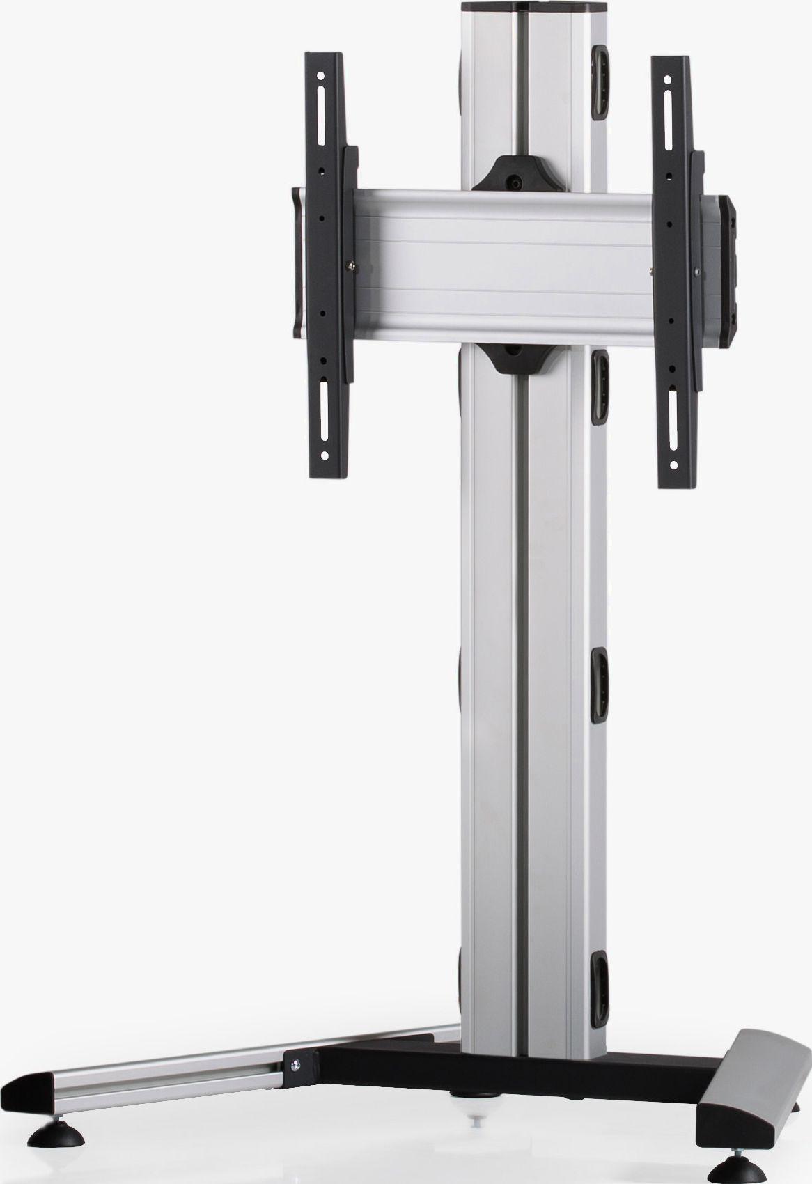 1 Display 1×1, Höhe 110 cm, Standard-VESA, auf Standfuß
