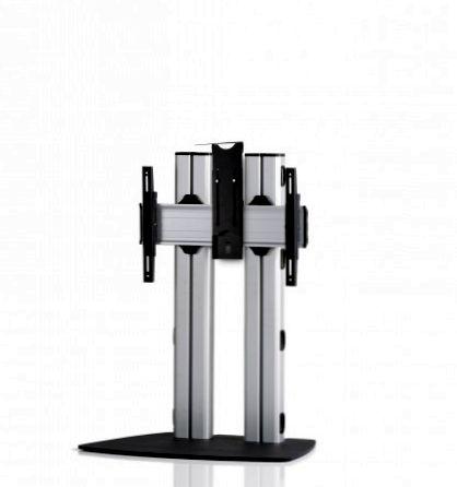 1 Display 1×1, für große Bildschirme, Höhe 110 cm, Standard-VESA, Kamera-Halterung, mit Standfuß
