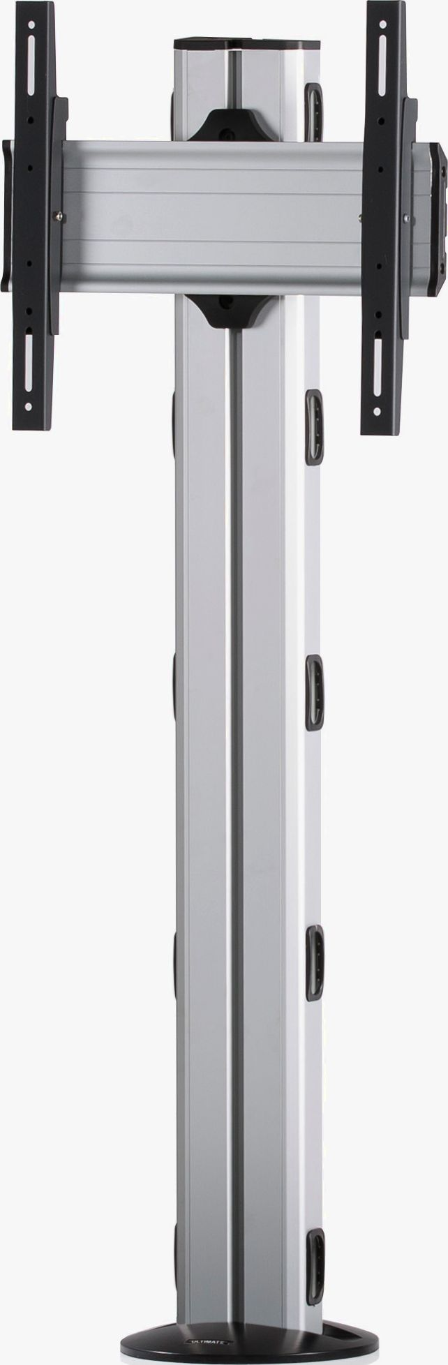 1 Display 1×1, Höhe 135 cm, Standard-VESA, zur Bodenbefestigung
