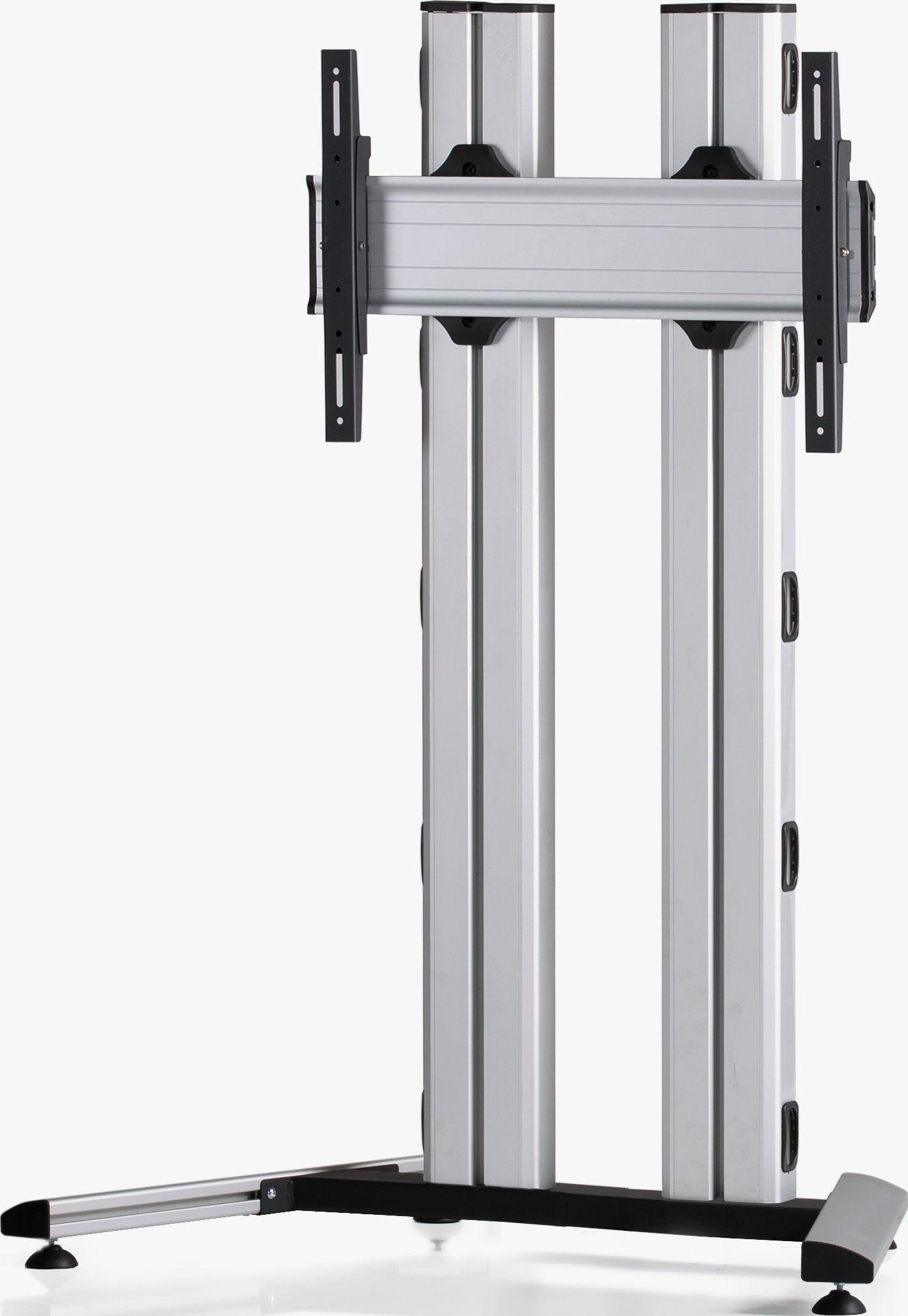 1 Display 1×1, für große Bildschirme, Höhe 135 cm, Standard-VESA, auf Standfuß