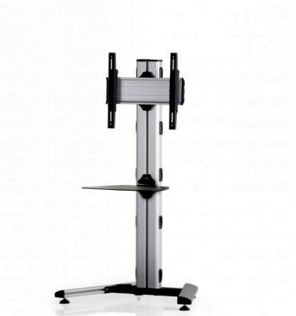1 Display 1×1, Höhe 135 cm, Standard-VESA, Ablage, auf Standfuß