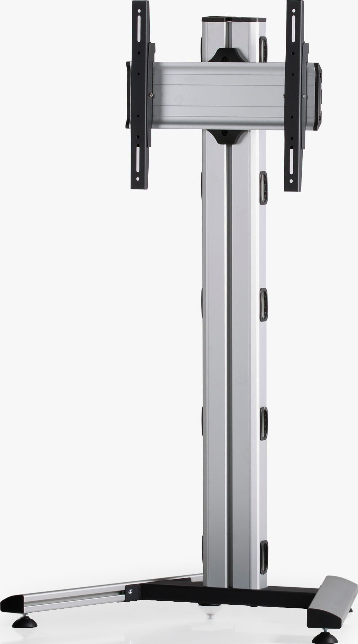 1 Display 1×1, Höhe 135 cm, Standard-VESA, auf Standfuß