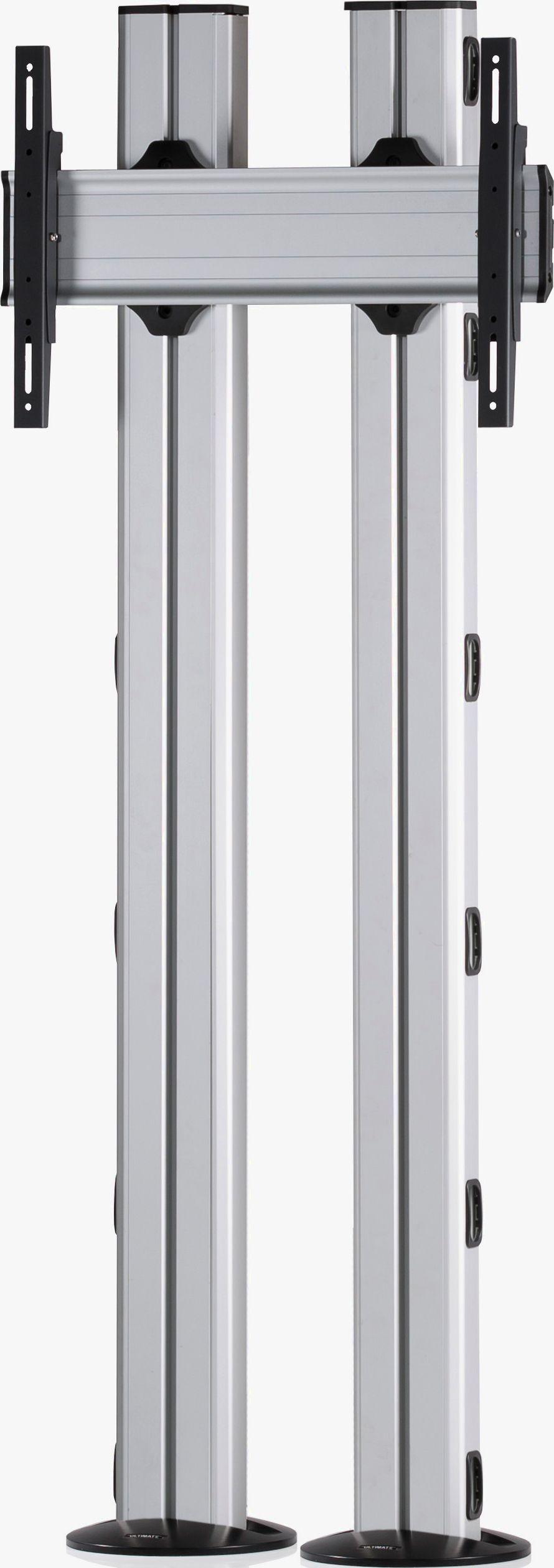 1 Display 1×1, für große Bildschirme, Höhe 180 cm, Standard-VESA, zur Bodenbefestigung