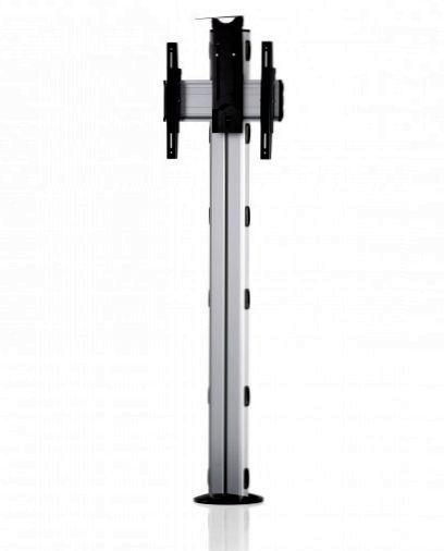 1 Display 1×1, Höhe 180 cm, Standard-VESA, Kamera-Halterung, zur Bodenbefestigung