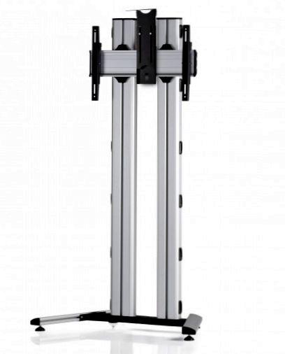 1 Display 1×1, für große Bildschirme, Höhe 180 cm, Standard-VESA, Kamera-Halterung, auf Standfuß