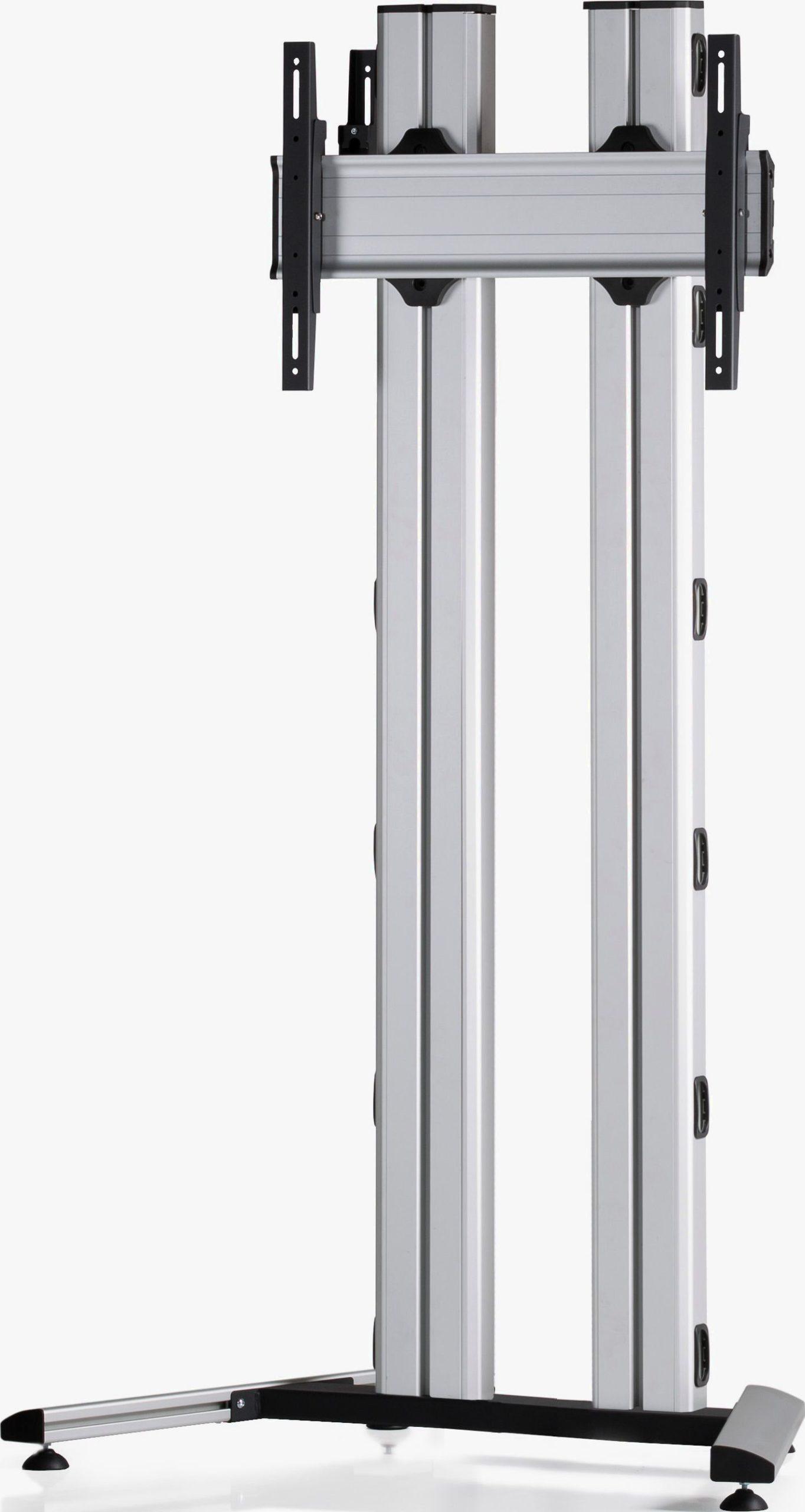 1 Display 1×1, für große Bildschirme, Höhe 180 cm, Standard-VESA, auf Standfuß