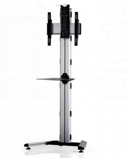 1 Display 1×1, Höhe 180 cm, Standard-VESA, Ablage, Kamera-Halterung, auf Standfuß