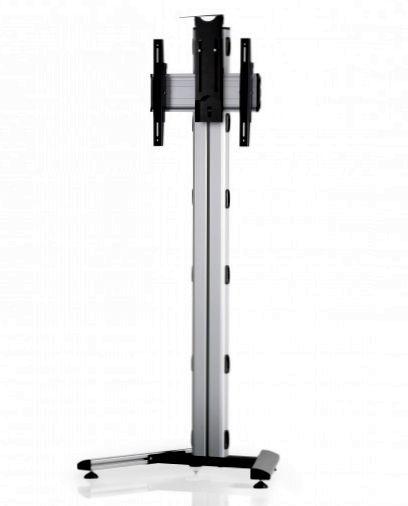 1 Display 1×1, Höhe 180 cm, Standard-VESA, Kamera-Halterung, auf Standfuß
