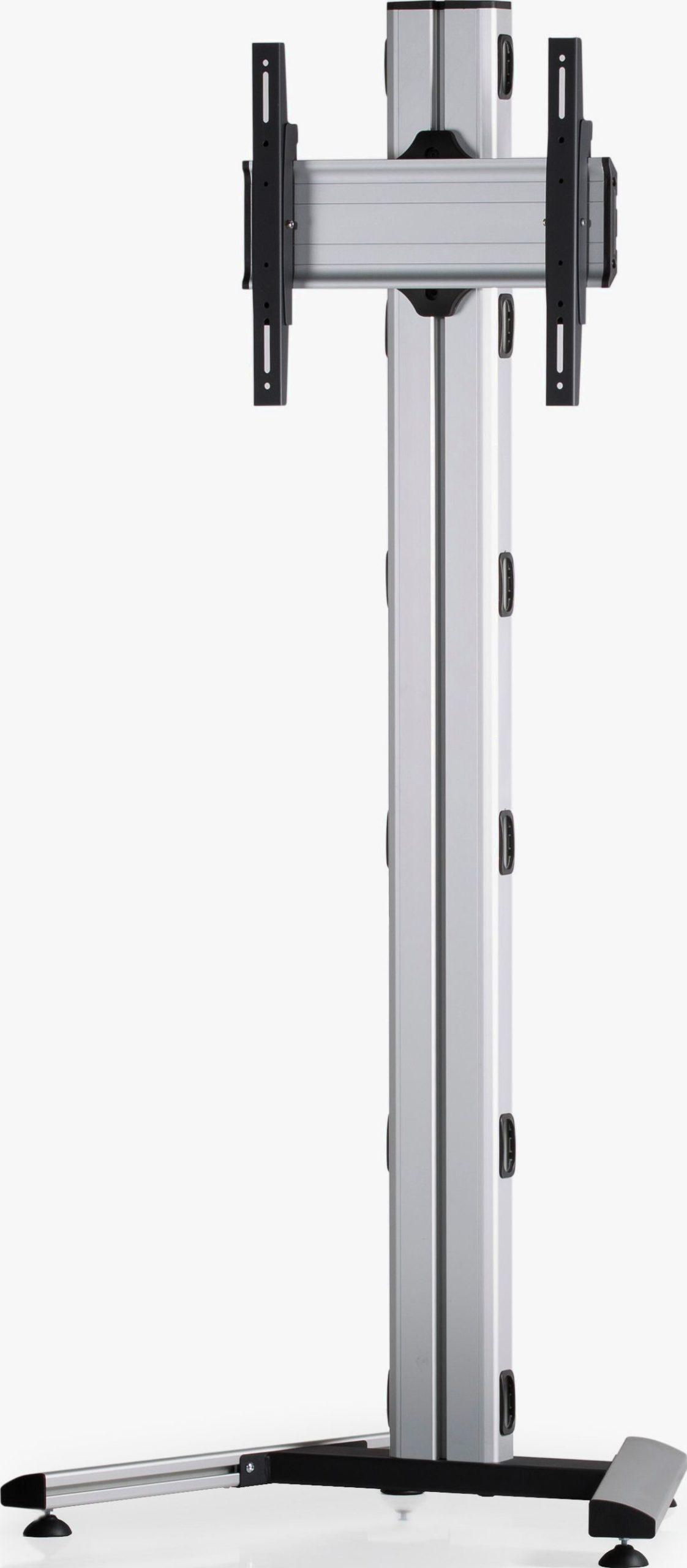 1 Display 1×1, Höhe 180 cm, Standard-VESA, auf Standfuß