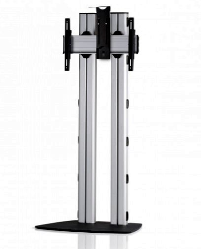 1 Display 1×1, für große Bildschirme, Höhe 180 cm, Standard-VESA, Kamera-Halterung, mit Standfuß