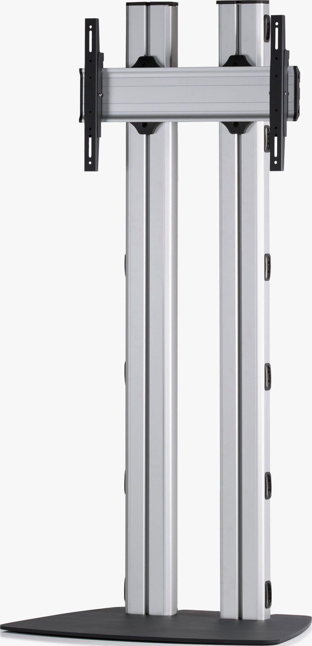 1 Display 1×1, für große Bildschirme, Höhe 180 cm, Standard-VESA, mit Standfuß
