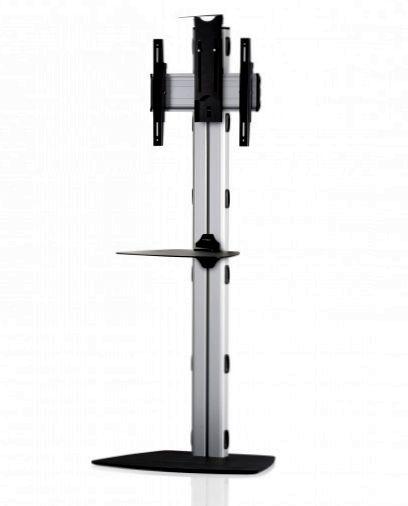 1 Display 1×1, Höhe 180 cm, Standard-VESA, Ablage, Kamera-Halterung, mit Standfuß