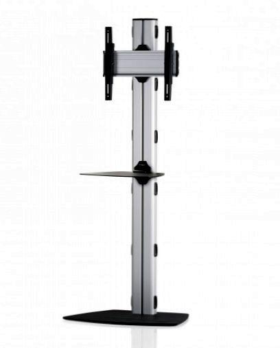 1 Display 1×1, Höhe 180 cm, Standard-VESA, Ablage, mit Standfuß