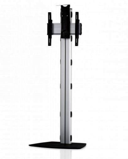 1 Display 1×1, Höhe 180 cm, Standard-VESA, Kamera-Halterung, mit Standfuß