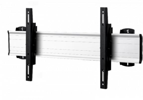 1 Display 1×1, Standard-VESA,  zur Wandbefestigung