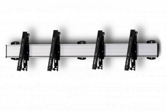 2 Displays 1×2, multifunktioneller VESA, zur Wandbefestigung