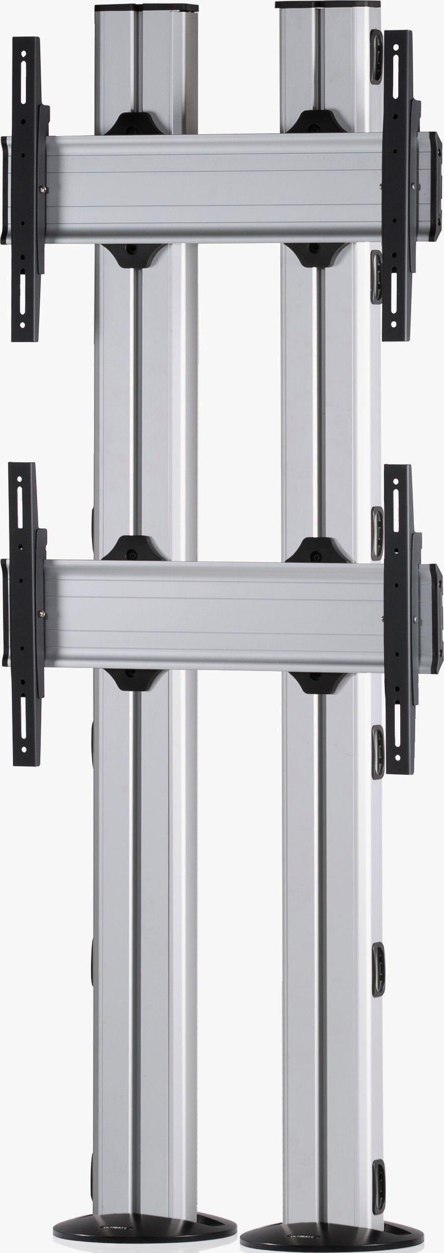 2 Displays 2×1, für große Bildschirme, Standard-VESA, zur Bodenbefestigung