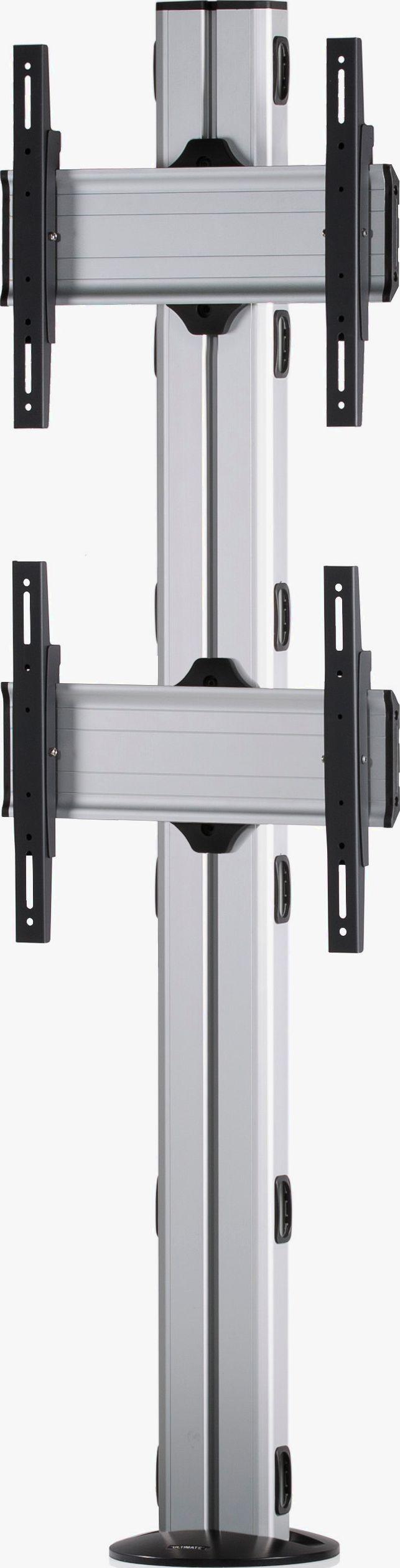 2 Displays 2×1, Standard-VESA, zur Bodenbefestigung