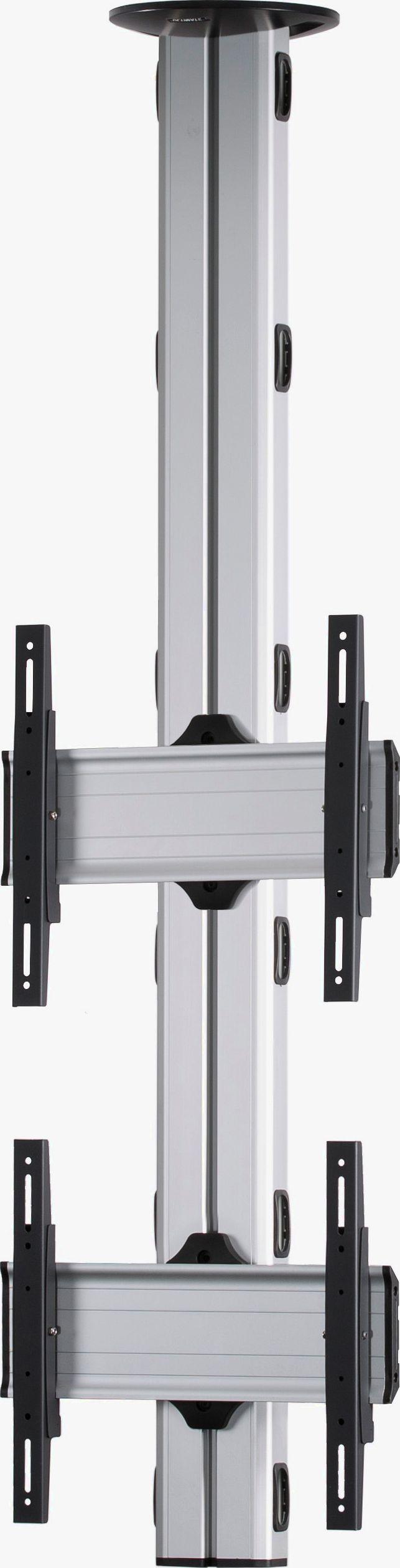 2 Displays 2x1, Standard-VESA, zur Deckenbefestigung