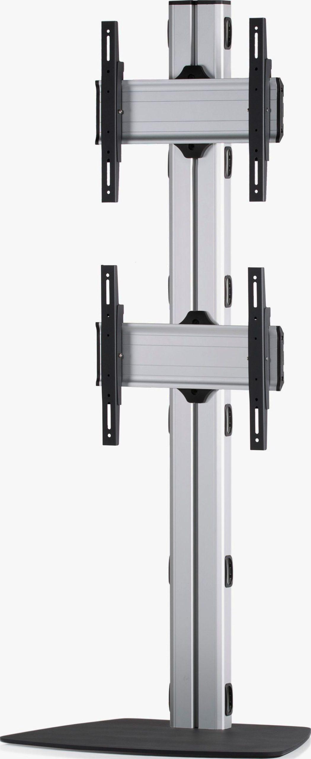 2 Displays 2x1, Standard-VESA, mit Standfuß