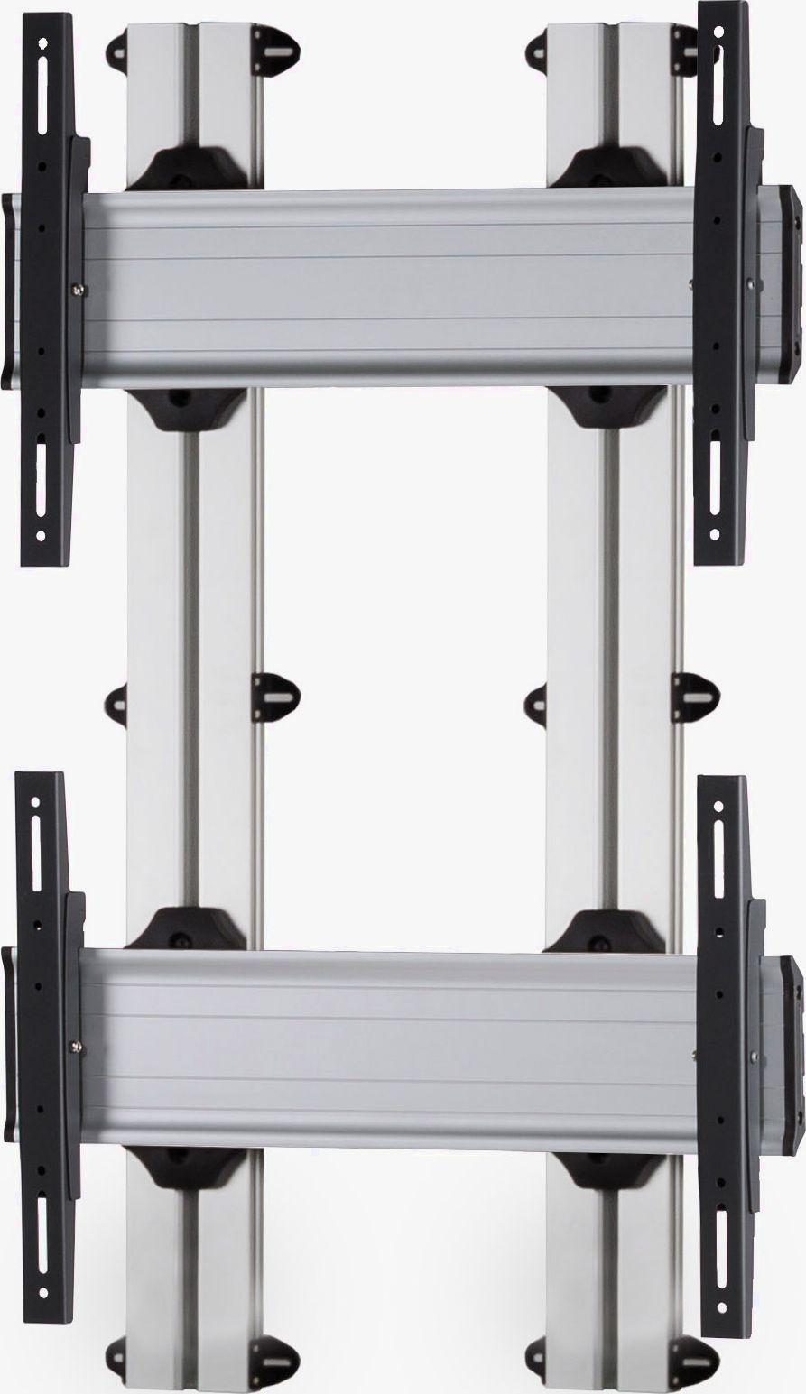 2 Displays 2×1, für große Bildschirme, Standard-VESA, zur Wandbefestigung