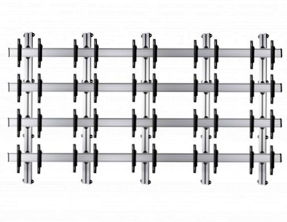 20 Displays 4×5, für große Bildschirme, Standard-VESA, zur Wandbefestigung