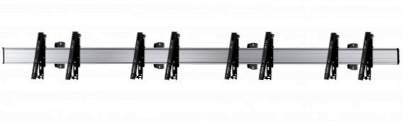 4 Displays 1×4, multifunktioneller VESA, zur Wandbefestigung