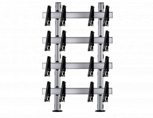 8 Displays 4×2, multifunktioneller VESA, zur Bodenbefestigung
