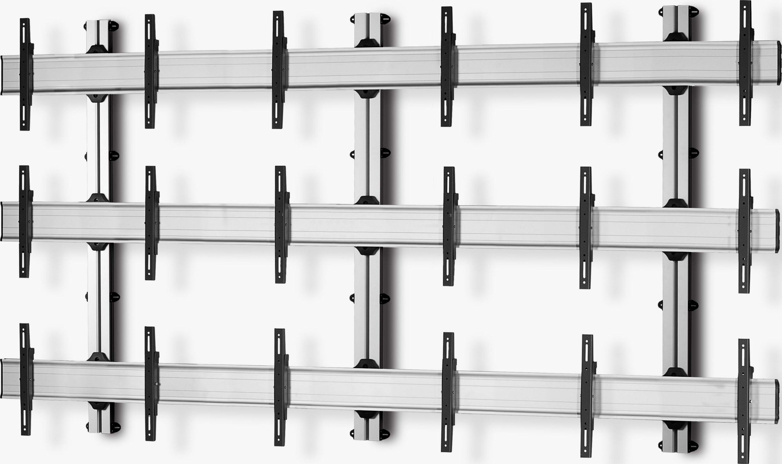 9 Displays 3×3, für große Bildschirme, Standard-VESA, zur Wandbefestigung