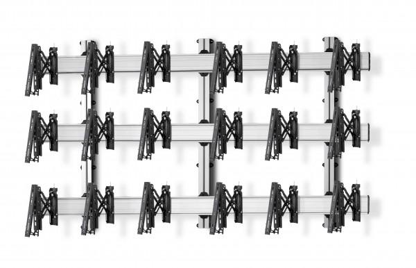9 Displays 3×3, für große Bildschirme, Teleskop-VESA, zur Wandbefestigung