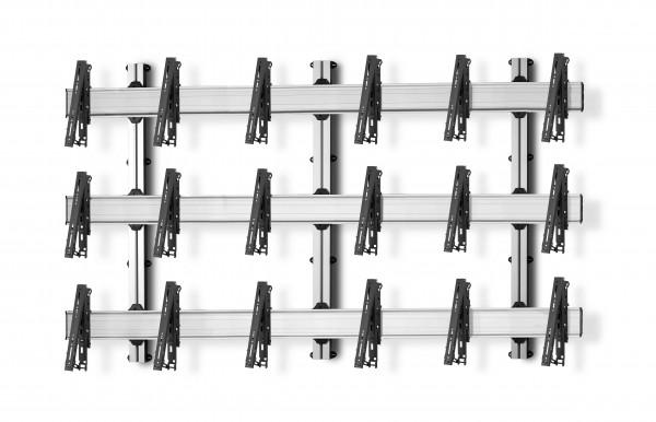 9 Displays 3×3, multifunktioneller VESA, zur Wandbefestigung